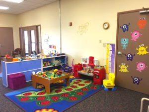 Lend and Learn North dramatic Play area